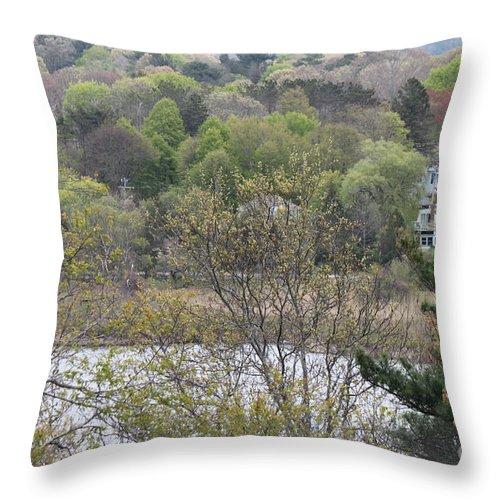 Massachusetts Throw Pillow featuring the photograph The Beautiful Plymouth Massachusetts by Jennifer E Doll