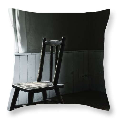Chair Throw Pillow featuring the photograph The Chair By The Window II by Margie Hurwich