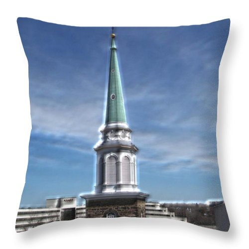 Steeple Throw Pillow featuring the photograph The Chosen by Pharris Art