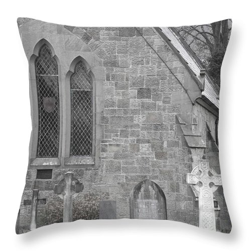 Church Throw Pillow featuring the photograph The Church 2 by Christopher Rowlands