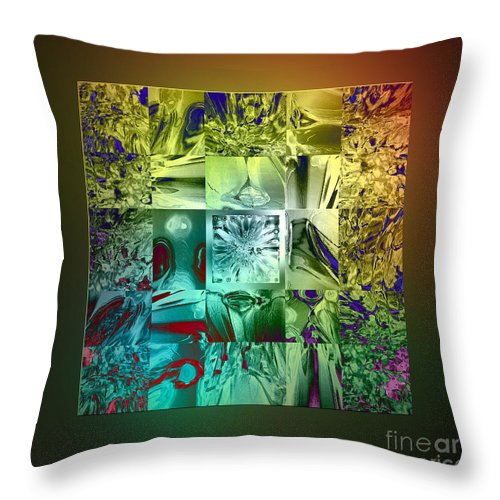 Devil Throw Pillow featuring the digital art The Devil Is In The Details by Klara Acel