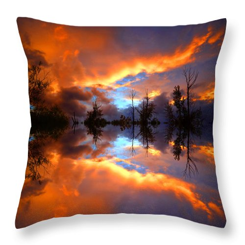 Sunset Throw Pillow featuring the photograph The Forgotten Sunset by Tara Turner