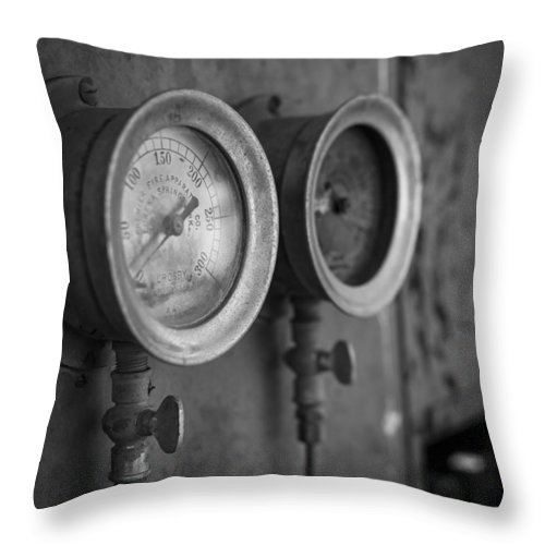 Landscapes Throw Pillow featuring the photograph The Good Old Days by Amber Kresge
