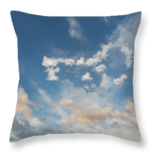 California Throw Pillow featuring the photograph The Key To Cloud Computing by John Lund