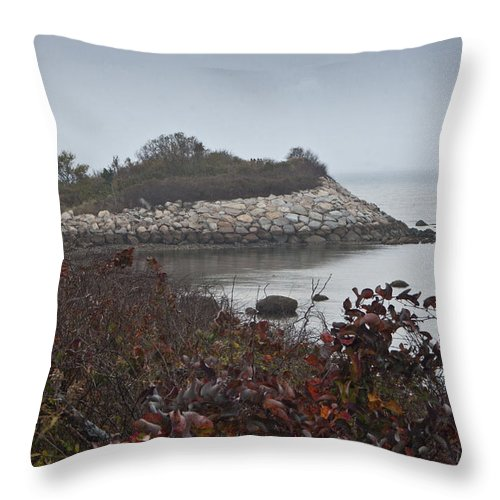Knob Throw Pillow featuring the photograph The Knob 3 by Dennis Coates