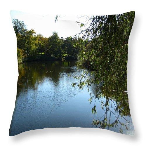 Lake Throw Pillow featuring the photograph The Lake by Susanne Baumann