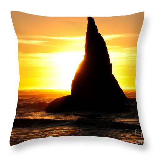 Magician's Hat Throw Pillow featuring the photograph The Magician's Hat by Vivian Christopher