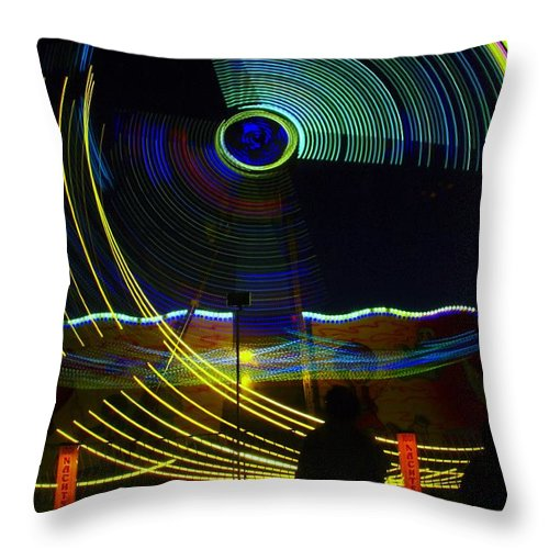 Light Throw Pillow featuring the photograph The Manohorn by Jeff Swan