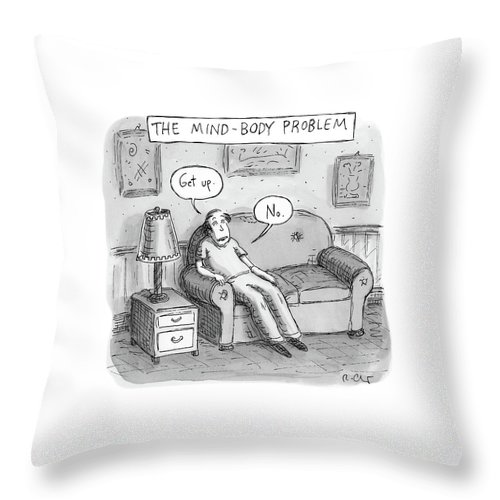 The Mind Body Problem Throw Pillow