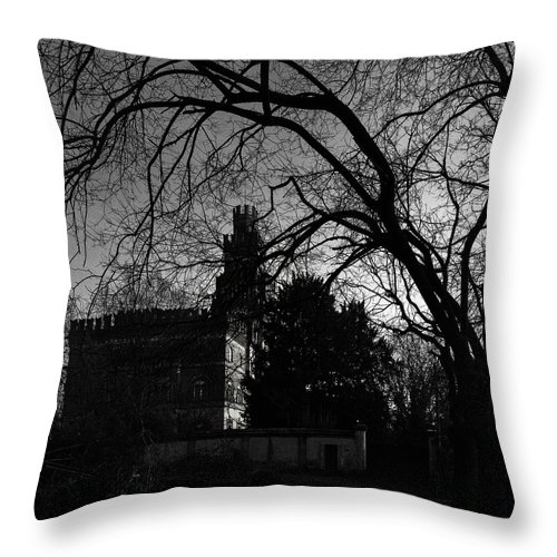 Castle Throw Pillow featuring the photograph The Old Castle by Alfio Finocchiaro
