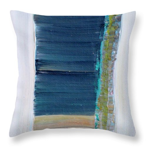 Pharaoh Throw Pillow featuring the painting The Pharaoh's Chamber by Fabrizio Cassetta