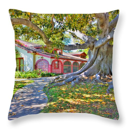 Throw Pillow featuring the photograph The Rancho by Heidi Smith