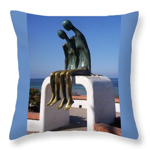Jandrel Throw Pillow featuring the photograph The Secret by J Andrel