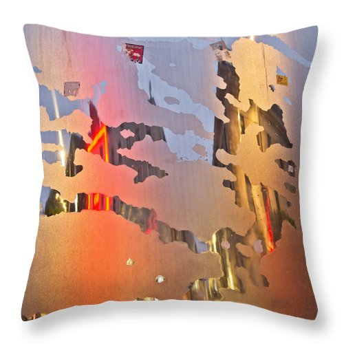 Spire Throw Pillow featuring the photograph The Spire by Alex Art and Photo
