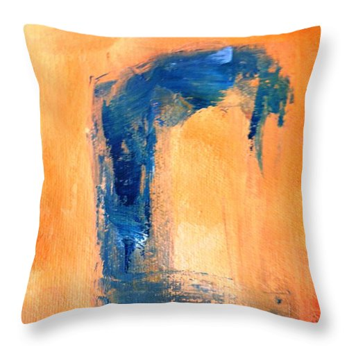 Paintings By Lyle Throw Pillow featuring the painting The Window by Lord Frederick Lyle Morris - Disabled Veteran