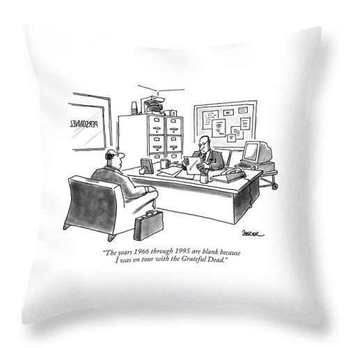 The Years 1966 Through 1995 Are Blank Because Throw Pillow