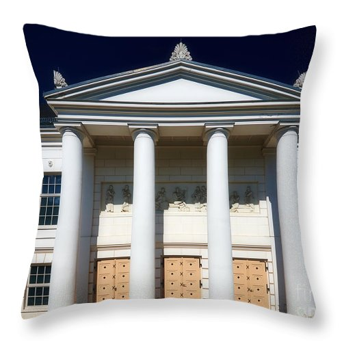 Vorpommern Throw Pillow featuring the photograph Theatre Putbus Island Of Rugen II by Nick Biemans