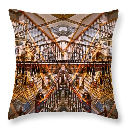 Kevin Eatinger Throw Pillow featuring the photograph Theatrical Arrangement 4 by Kevin Eatinger