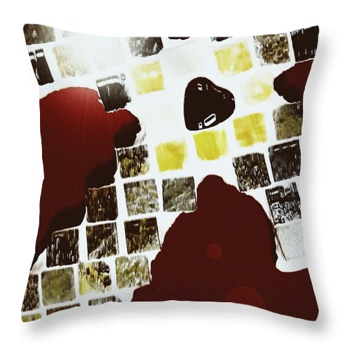 Cross Throw Pillow featuring the photograph This Light Of Mine by Lisa Brandel