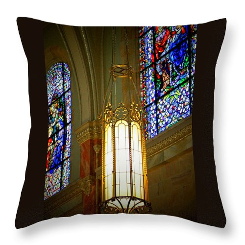 Light Throw Pillow featuring the photograph This Little Light by Susan McMenamin