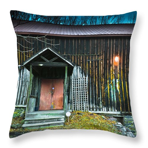 Barn Throw Pillow featuring the photograph This Old Barn by Gary Keesler