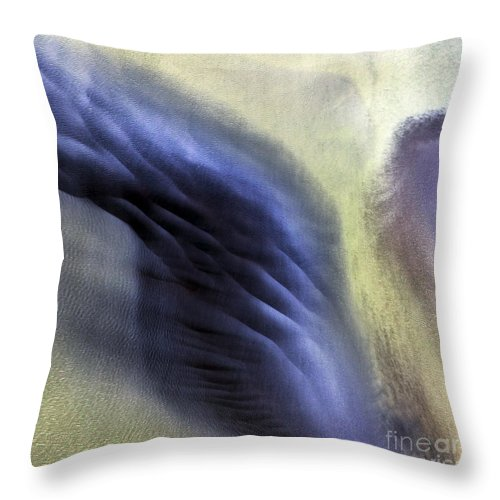 Abstract Photography Throw Pillow featuring the photograph Thor Wing by Gunnar Orn Arnason