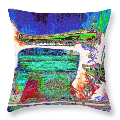 Fantasy Throw Pillow featuring the photograph Threads Of Color by Jan Amiss Photography