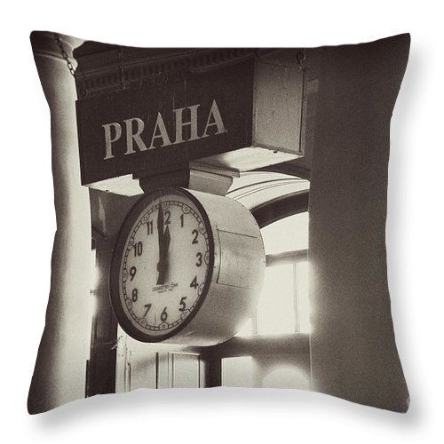 Photography Throw Pillow featuring the photograph Time In History by Ivy Ho