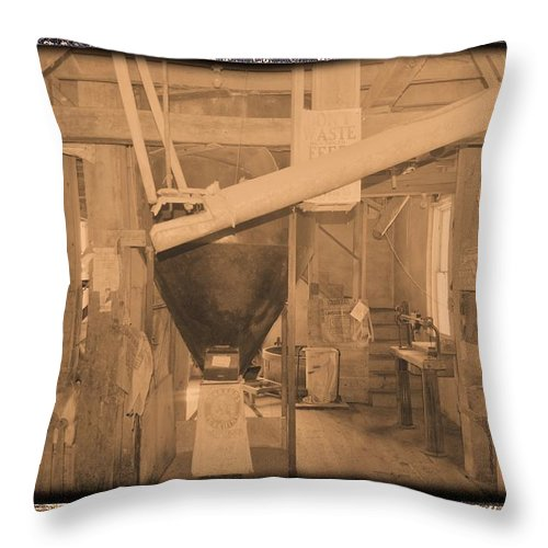 Time Throw Pillow featuring the photograph Time Passages by Bonfire Photography