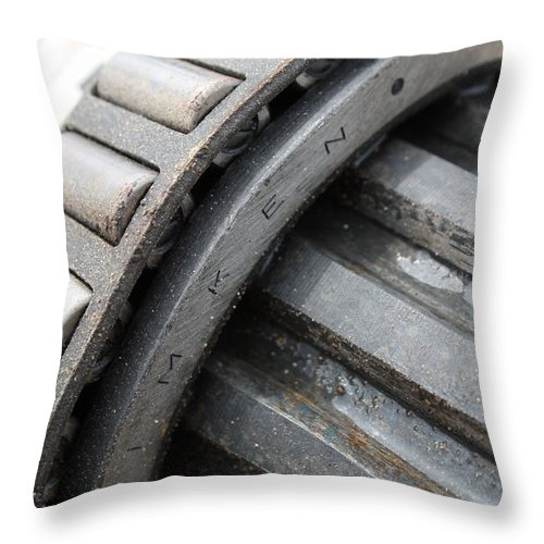 Timken Throw Pillow featuring the photograph Timken by Valerie Loop