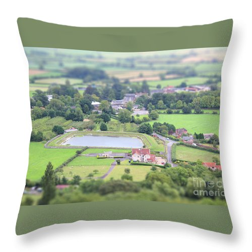Tiny Throw Pillow featuring the photograph Tiny Country by Vicki Spindler