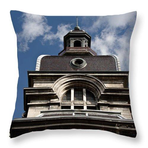 Europe Throw Pillow featuring the photograph Tower In Lyon by Oleg Koryagin