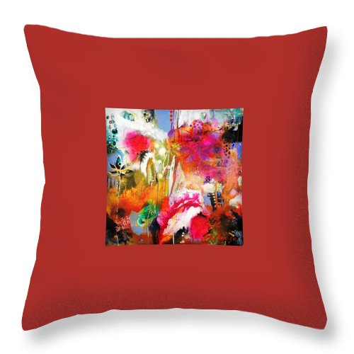 Nature Throw Pillow featuring the photograph We Dwell In Possibility.2014 by Tracy Verdugo