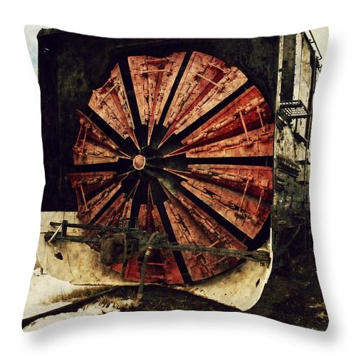 Texture Throw Pillow featuring the photograph Trail Blazer by Leah Moore