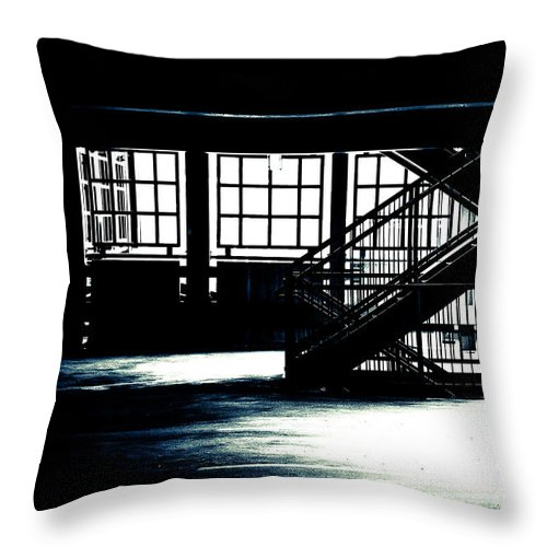 Bob Orsillo Throw Pillow featuring the photograph Transcendental Watcher by Bob Orsillo