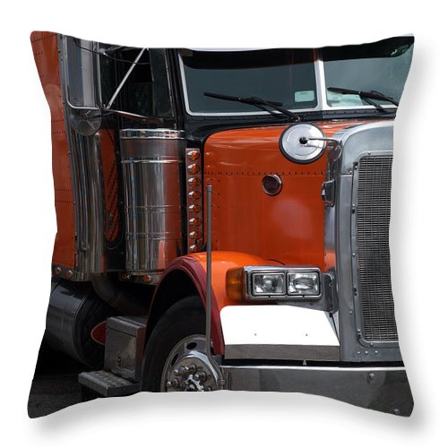 Big Throw Pillow featuring the photograph Truck by Viktor Pravdica