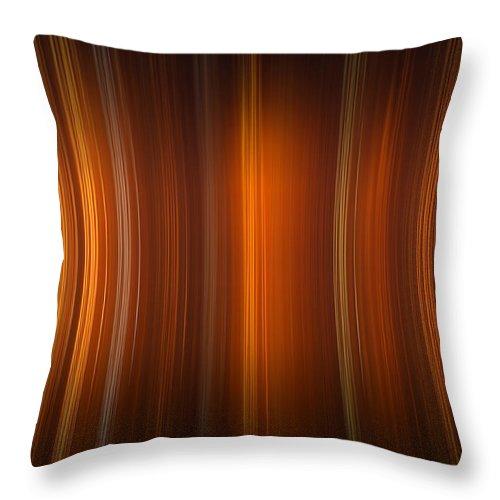Tube Throw Pillow featuring the digital art Tube Time by Vitaliy Gladkiy