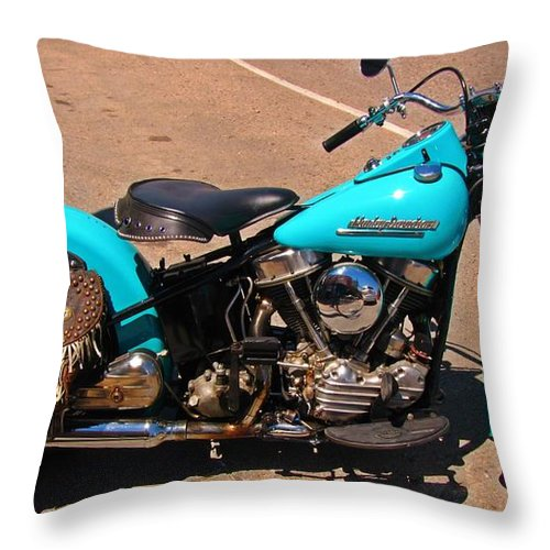 Turquoise Beauty Throw Pillow featuring the photograph Turquoise Beauty by John Malone