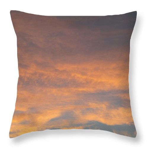Sky Throw Pillow featuring the photograph Twilight 2 by Randall Weidner