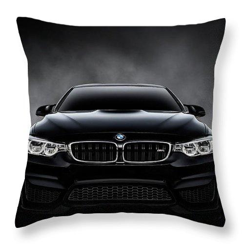 Bmw Throw Pillow featuring the digital art Ultimatum by Douglas Pittman