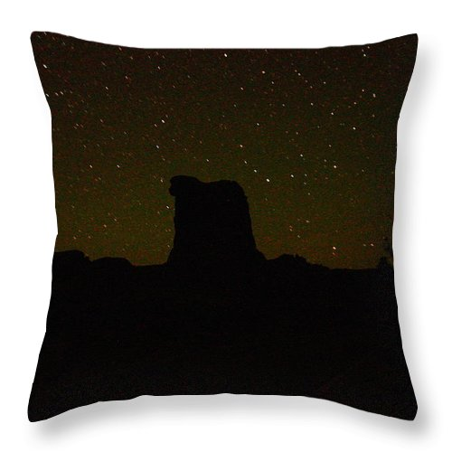 Stars Throw Pillow featuring the photograph Under The Starry Sky by Jeff Swan