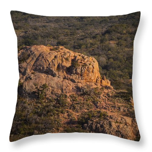 Throw Pillow featuring the photograph Untitiled by Vance Long
