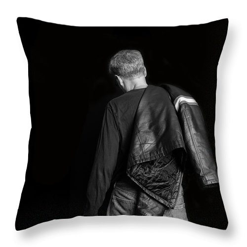 Self Throw Pillow featuring the photograph Untitled by Edward Fielding