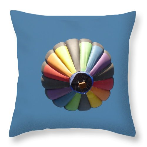 Sky Throw Pillow featuring the photograph Up Up And Away by Jennifer Lavigne