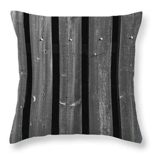 Abstract Throw Pillow featuring the photograph Upright by Sean O'Cairde