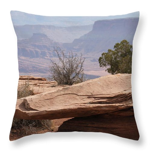 Utah Throw Pillow featuring the photograph Utah Landscape # 6 by G Berry