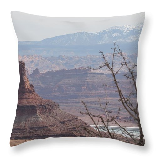 Utah Throw Pillow featuring the photograph Utah Landscape # 7 by G Berry