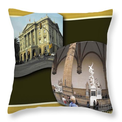 Vacation Throw Pillow featuring the photograph Vacation 2 by Iris Gelbart