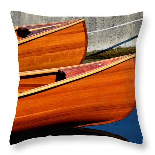 Throw Pillow featuring the photograph Vancouver Bc by Dean Ferreira