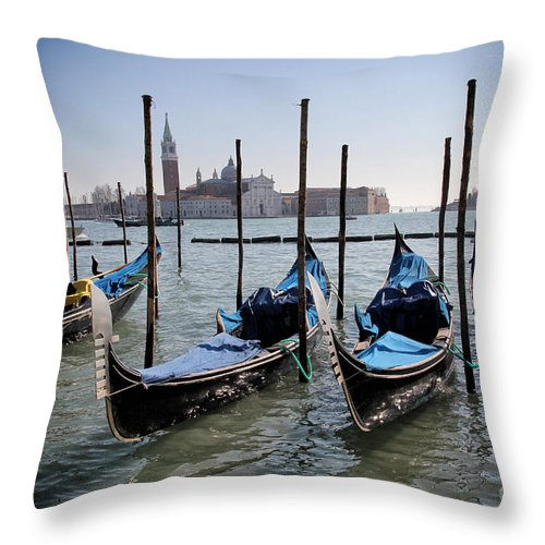 Architecture Throw Pillow featuring the photograph Venice by Ulisse